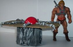 MOTU Masters of the universe custom TABLE only FOR THE CLASSICS SKELETOR $30.00