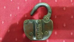 C P Co. Brass Antique Round Shackle lock key hole cover has ADLAKE $19.49