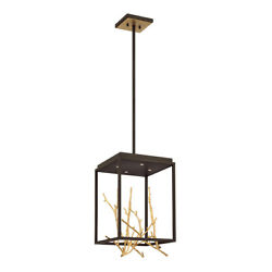 Eurofase Inc. 38637 018 Aerie Chandelier Bronze and Gold $1182.00