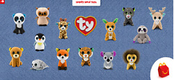 2021 McDONALD#x27;S Ty Beanie Boos Baby Babies HAPPY MEAL TOYS Or Set $3.99