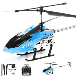 Metal 3.5CH 33#x27;#x27; Giant RC Helicopter Gyro Remote Control Outdoor Large RC Toys $54.68