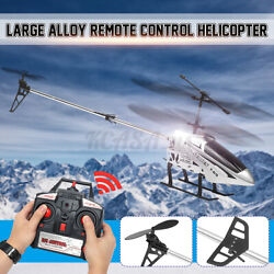 Metal 3.5CH 33#x27;#x27; Giant RC Helicopter RTF Gyro 2.4G Extra Large Airplane Toy Gift $54.28
