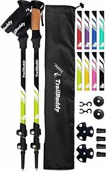 TrailBuddy Trekking Poles 2 pc Pack Adjustable Hiking or Walking Sticks S... $43.61