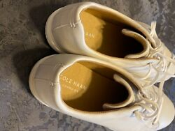 Cole Haan used Grand Crosscourt Casual white Leather Shoes M 13 $45.00