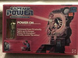 New Captain Power POWER ON ENERGIZER Soldiers of the Future 1987 Mattel $59.99