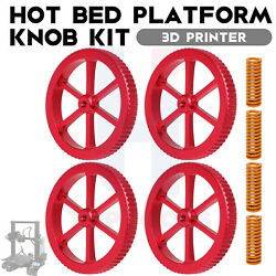 Hand Hot Bed Platform Knob with Hot Bed Die Springs for Creality Ender Series $13.99
