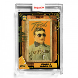 HONUS WAGNER by DJ Skee 2021 Topps PROJECT 70 #172 PITTSBURGH PIRATES $19.50