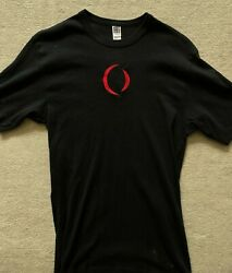 Vintage and Rare A Perfect Circle T Shirt 2000 Black w RedEmbroidered Large $59.00