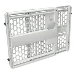 Evenflo Baby Gate Memory Fit 27quot; 42quot; Wide 23.5quot; Tall White $24.99