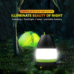 3 IN 1 Tent LED Light Portable Rechargeable Lantern Outdoor Camping Hiking Lamp $10.34