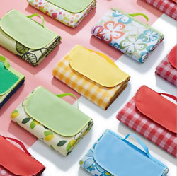 78quot;x56quot; outdoor picnic pad mat beach camping hiking for gift in summer $13.29