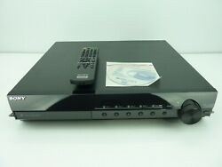 Sony DAV HDX285 Home Theater System Receiver 5 Disc Changer DVD Player w Remote $109.77