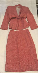 Larry Levine Skirt Suits Size Small $19.99