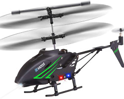 Vatos Rc Helicopter Remote Control Helicopter With Gyro And Led Light 3.5 Chann $33.99