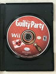 Guilty Party for Nintendo Wii Game Disc Only Disney Disney#x27;s $2.99