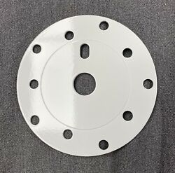 OLD SCHOOL BMX NEW WHITE POWER DISC CHAINRING ADAPTER ALUMINUM 110 130 GT HUTCH $49.00