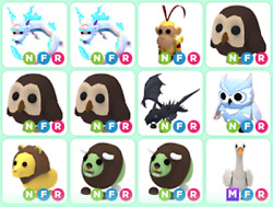 Adopt Me Roblox Pets Vehicles Strollers and Toys $18.00