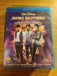 JONAS BROTHERS The Concert Experience 3D 2D Blu ray DVD Discs $3.70