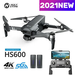 RC GPS Drone HS600 with 4K Camera FPV Quadcopter 2 Axis Gimbal with 2 Batteries $419.00