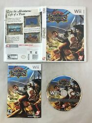 Pirates for Nintendo Wii Complete w Manual Sid Meier#x27;s Pirates $9.99
