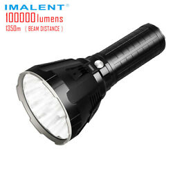 IMALENT MS18 Brightest Flashlight 100000 Lumens Long Throw Up to 1350 Meters $598.00