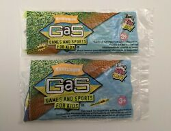 Nickelodeon Games And Sports GaS 2004 WENDY#x27;S KID#x27;S MEAL TOYS Lot Of 2 $18.95