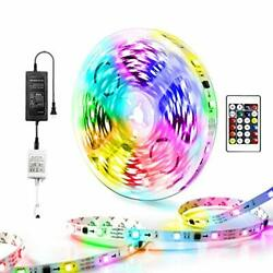 Dream Color Led Lights RGB IC Rainbow Multicolor Led Strip Lights with 16.4ft $19.48