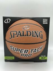 Spalding NBA 29.5 Super Tack Pro Composite Leather Indoor Outdoor Basketball $22.99
