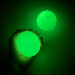 4 Pcs Luminous Wall Target Ball Sucker Sticky Decompression Toys for Kid Teen Ad $10.00