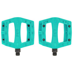 ECLAT BMX BIKE CONTRA 9 16quot; BICYCLE PEDALS TEAL $24.95