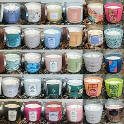 Bath amp; Body Works 3 Wick Candles New Ships Free $25.50