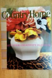 COUNTRY HOME September 2004 Let Your Creativity Blossom MINT $5.99