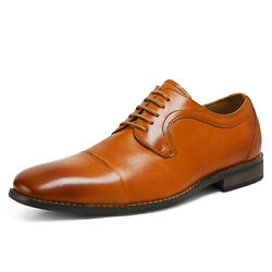 Mens Dress Shoes Genuine Leather Brogues Oxford Shoes Wedding Shoes $19.59