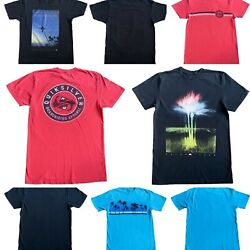 Quiksilver Mens Lot Of 4 Cotton T Shirts 3 Regular Fit amp; 1 Waterman Collection M $31.99