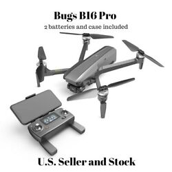 MJX R C Bugs B16 Pro folding quadcopter camera drone with 2 batteries and case $349.99
