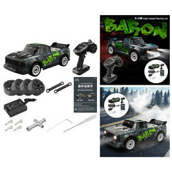 4CH Remote Control Drift Car 4WD Kids RC Brushless Rally Car Model With Gyro $125.23