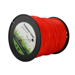 Homend 5lb 0.105quot; Red Commercial String Trimmer Line Trimmer Replacement Spool