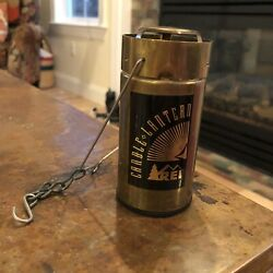 Vintage REI Candle Lantern Hiking Backpacking Hunting Camping Aluminum Handle $58.50