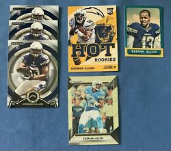 Lot Of 6 Keenan Allen Rookie amp; Prizm Card RC Chargers $4.95