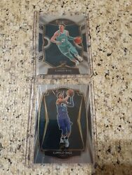 2020 21 Select Lamelo Ball Rookies concourse and premier level $115.00