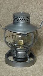 BALTIMORE amp; OHIO ENGINEERS CAB RAILROAD LANTERN WITH WEIGHTED BASE 31 $180.00