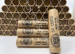 Vintage Stamped Lincoln Wheat Penny Roll 50 Cent Lot of PDS 1909 1958 US Coins $9.99
