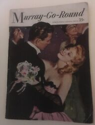 Murray Go Round By Kathryn amp; Arthur Murray Vintage Booklet 1954 64 Pages $5.00