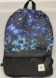 """VANS """"Off the Wall"""" Trees Stars Backpack Rare Design $26.09"""