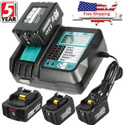 Charger DC18RC For Makita DC18RC 18V LXT Lithium Ion Rapid Battery Charger BL18 $23.99