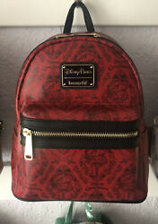 NWT Loungefly Pirates of the Caribbean Redd Red Mini Backpack New $95.00