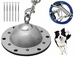 PNBO Dog Tie Out Stake Dog Anchor 360° Swivel Dog Stake for Yard with 11FT Do... $44.20