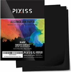 Pixiss Black Alcohol Ink Paper $27.99