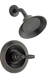 Peerless Claymore Oil Bronze Shower Faucet Trim Kit with Single Spray Shower $80.00