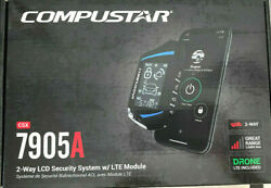 COMPUSTAR CSX7905A All in One 2 Way Security System w Drone X1 LTE Module NEW $169.99